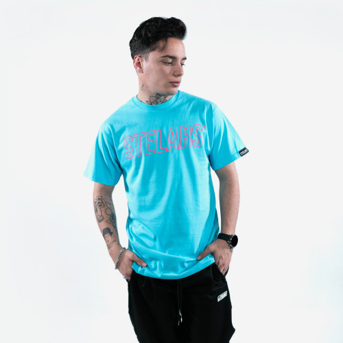 Light Blue Line Tshirt