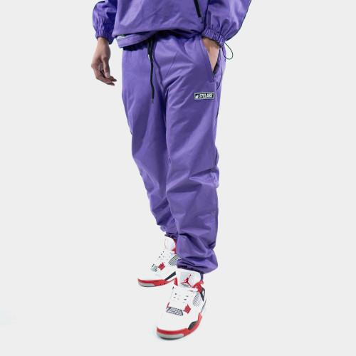 JE SUIS PURPLE TRACK PANTS
